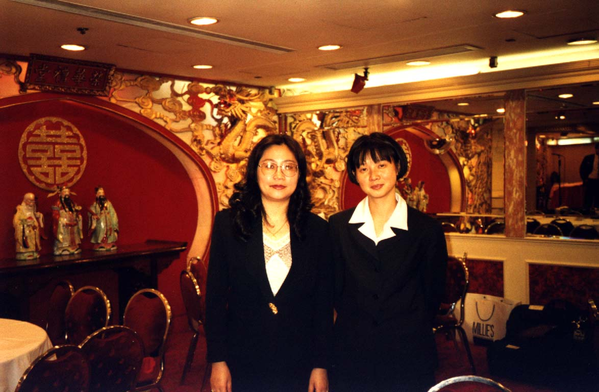 GM chinese champion 1980 and 1984 Shan XiaLi 單霞麗 and Lin Ye in Paris world championship